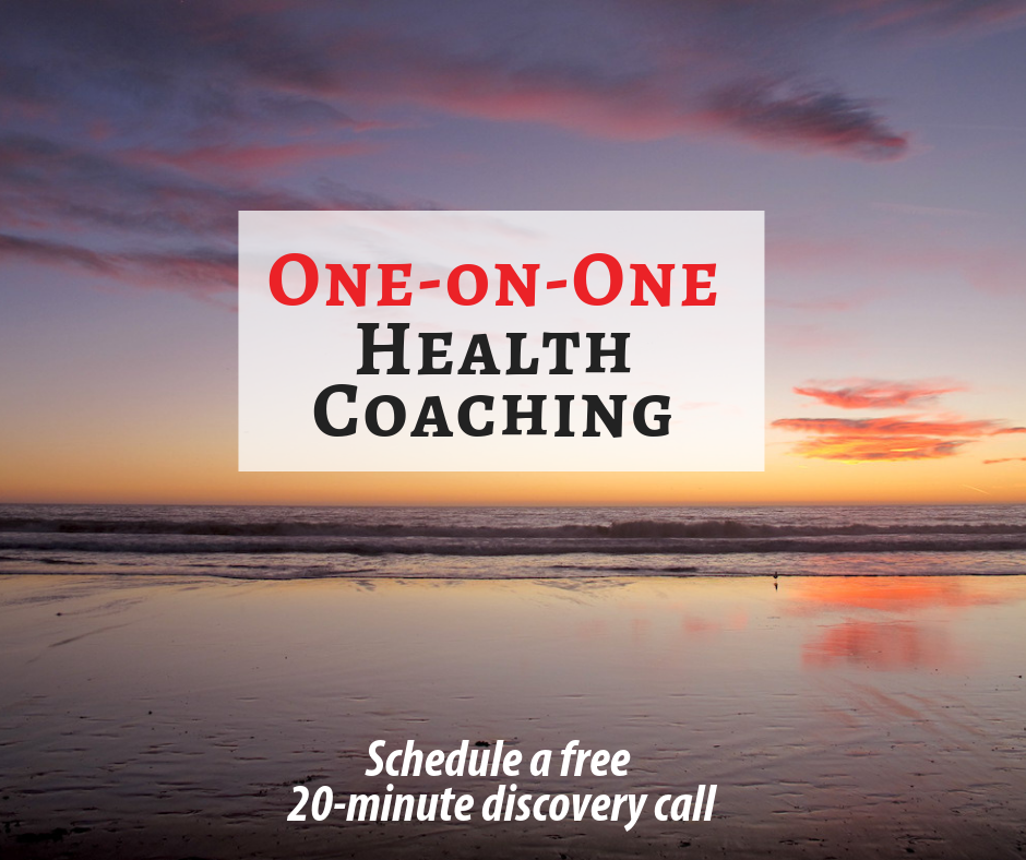 Get one on one coaching to help you make the changes you'd like to see in your life