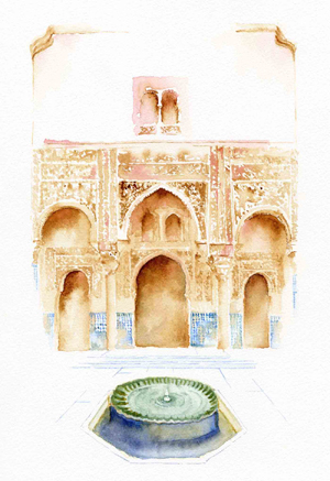 courtyard-of-the-mexuar-alhambra-palace-granada-watercolor-copyright-sophia-khan.jpg