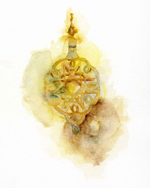 royal-palace-doorknocker-fez-watercolor-copyright-sophia-khan.jpg