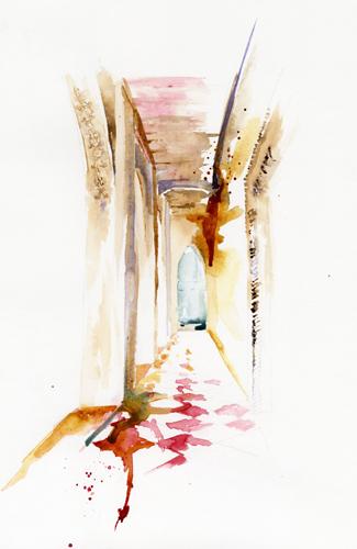 Passage through Treviso