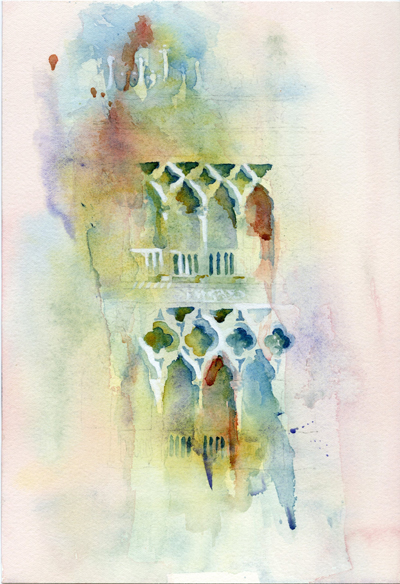 Colorful Strokes of Ca' d' Oro Venice