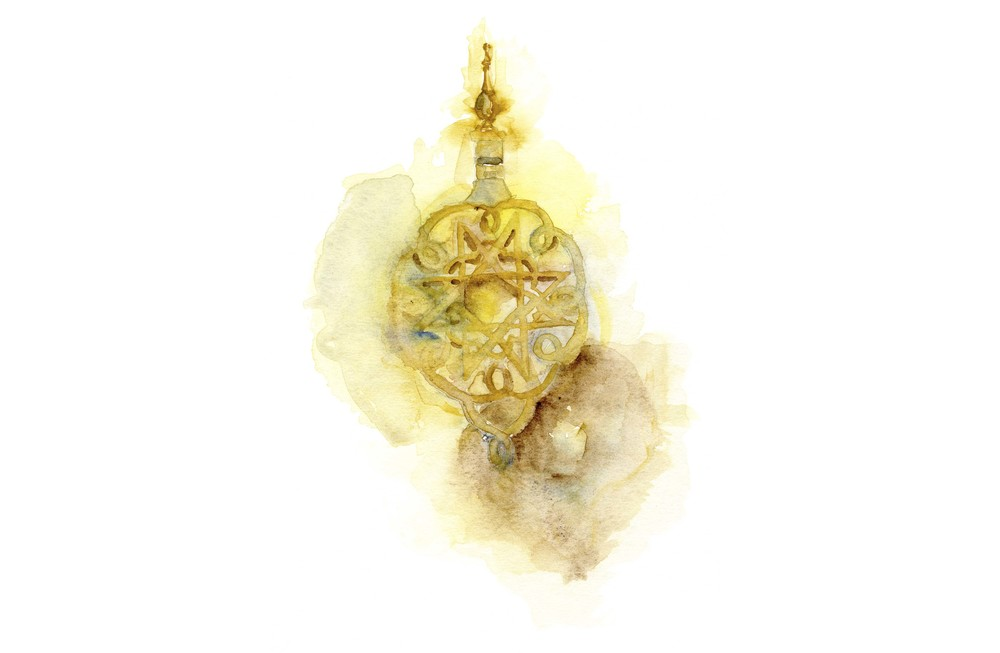 royal-palace-doorknocker-watercolor-fez-morroco-copyright-sophia-khan.jpg