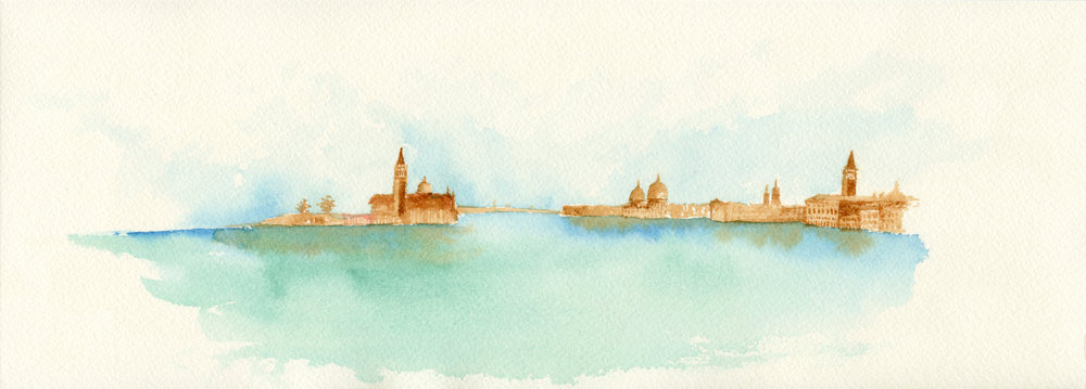 Venice from a Distance II