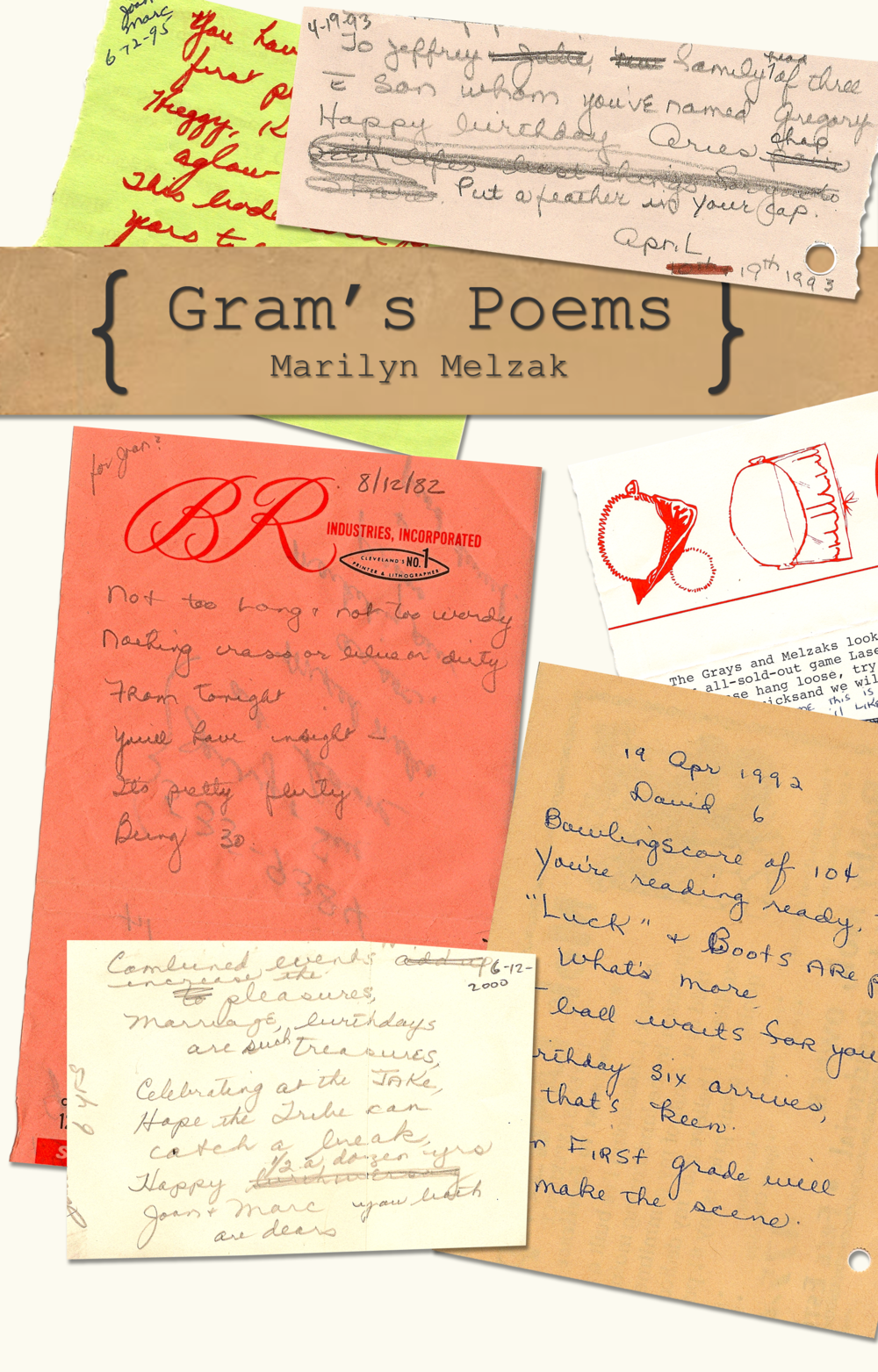Gram's Poem's (front cover)
