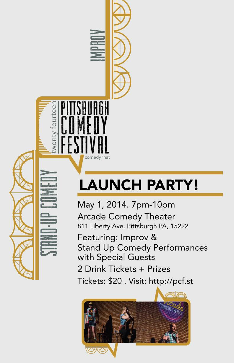 PCF Launch Party Poster