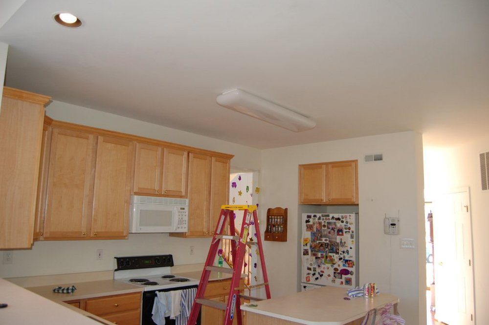 Recessed Lighting - Before