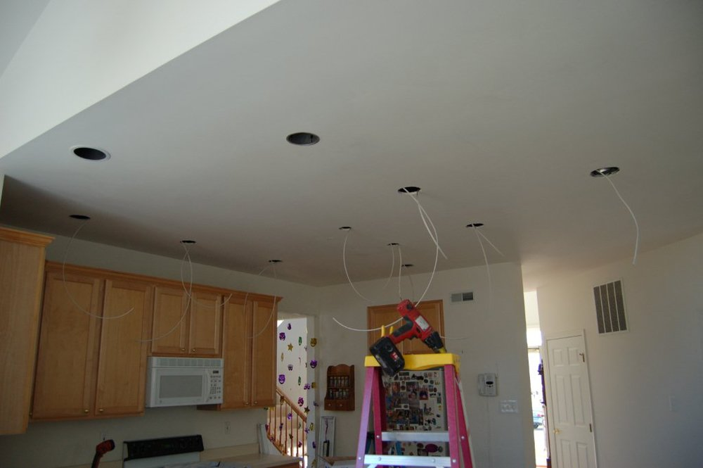 Installing Recessed Lights