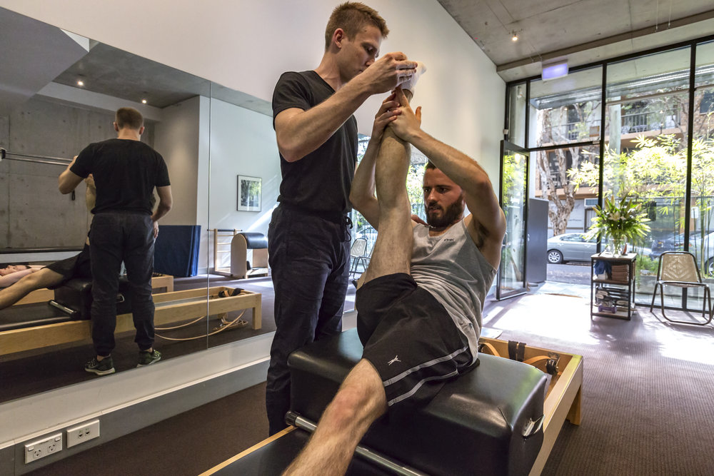 Reformer sessions are Private (Individual) or Duet (duo)