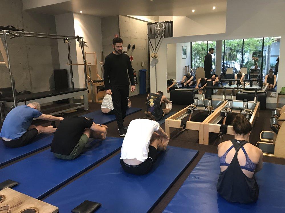 True Pilates Sydney Mat class