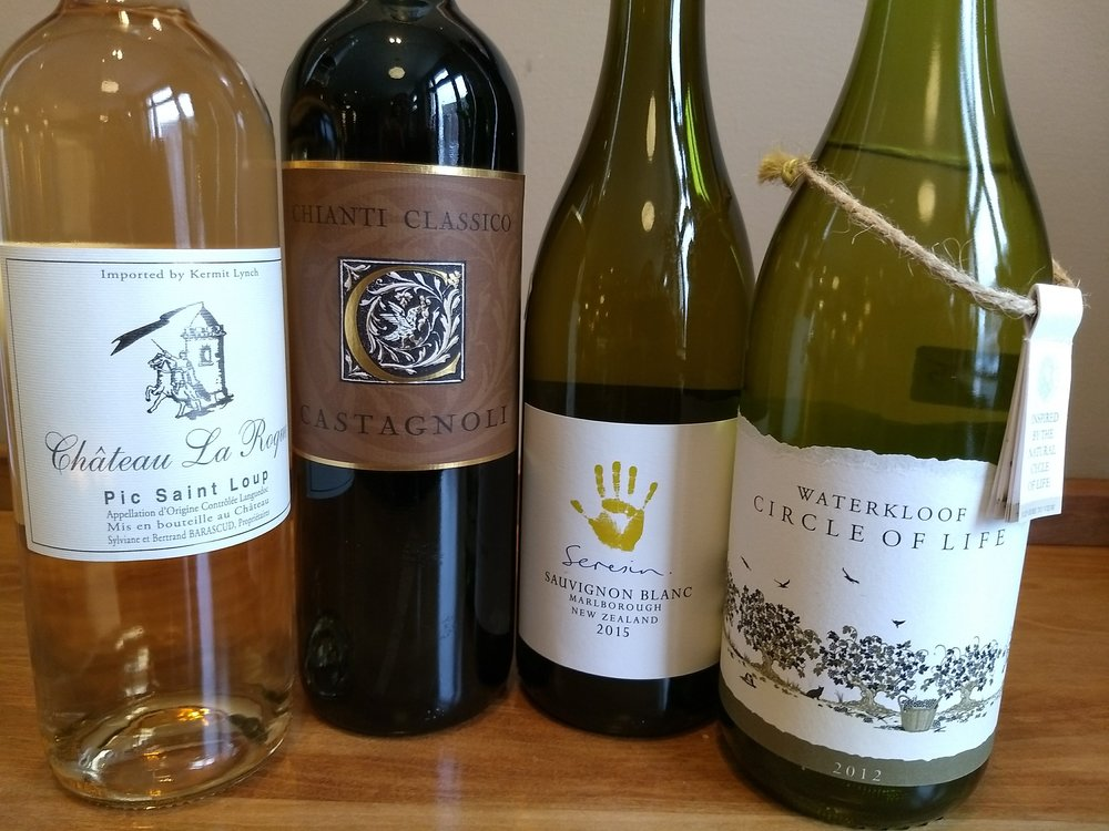 A few Biodynamic wines currently avaiable in our wine shop.