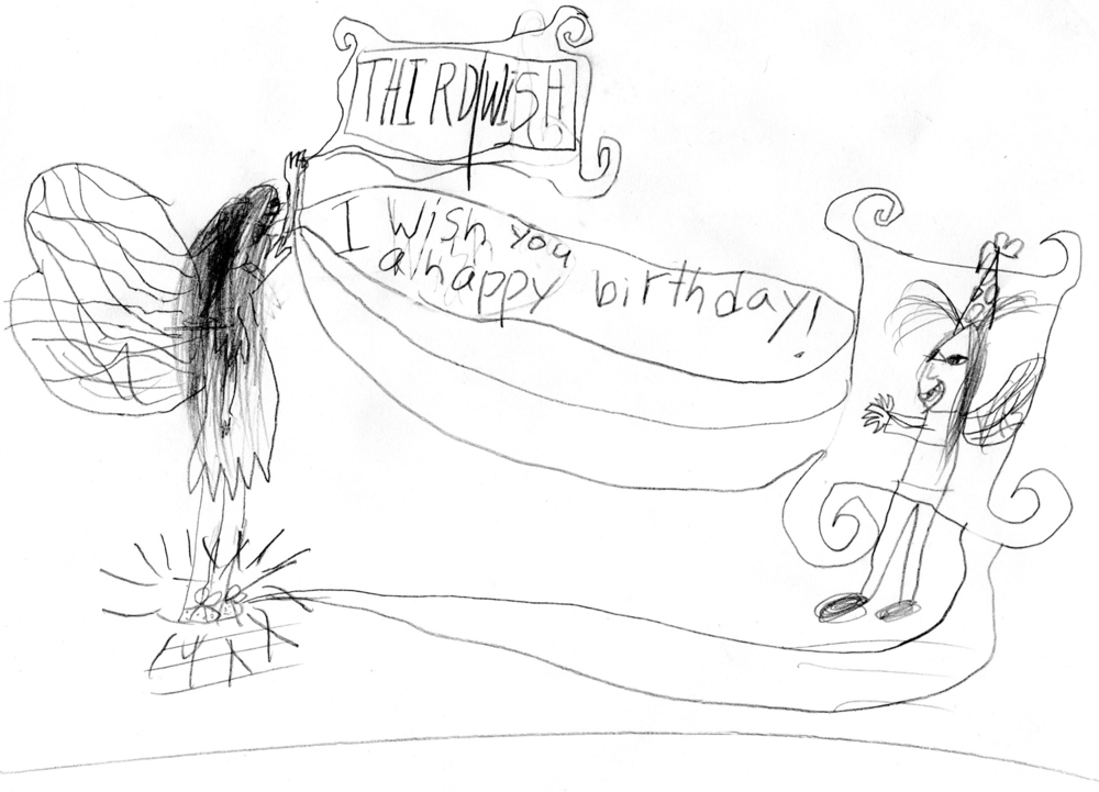 Happy Birthday, Fiona!  by Elijah