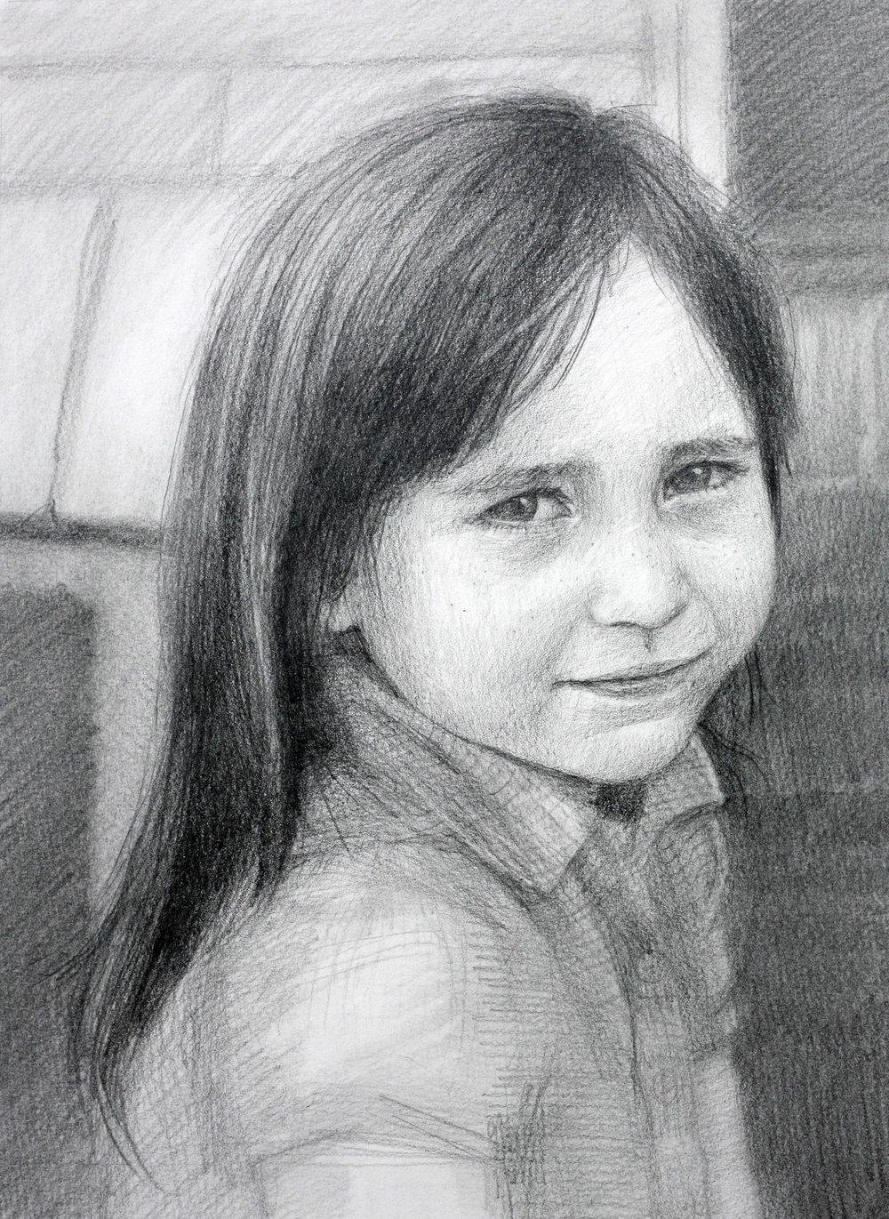 "Fiona Clare, 9""x12"""
