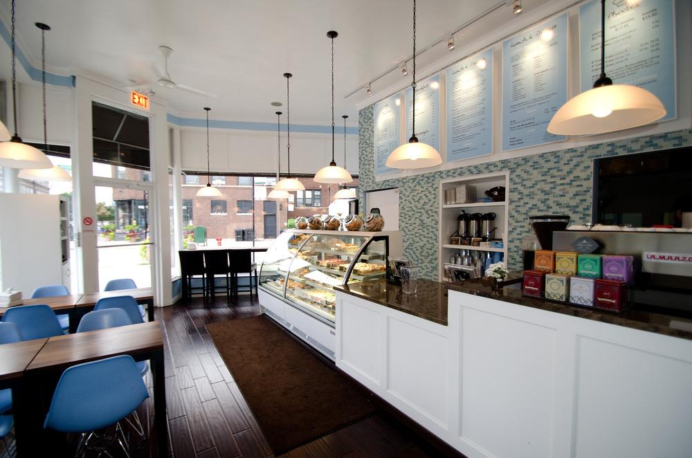 Branding case study nicholas robert paulin for Bakery shop decoration ideas