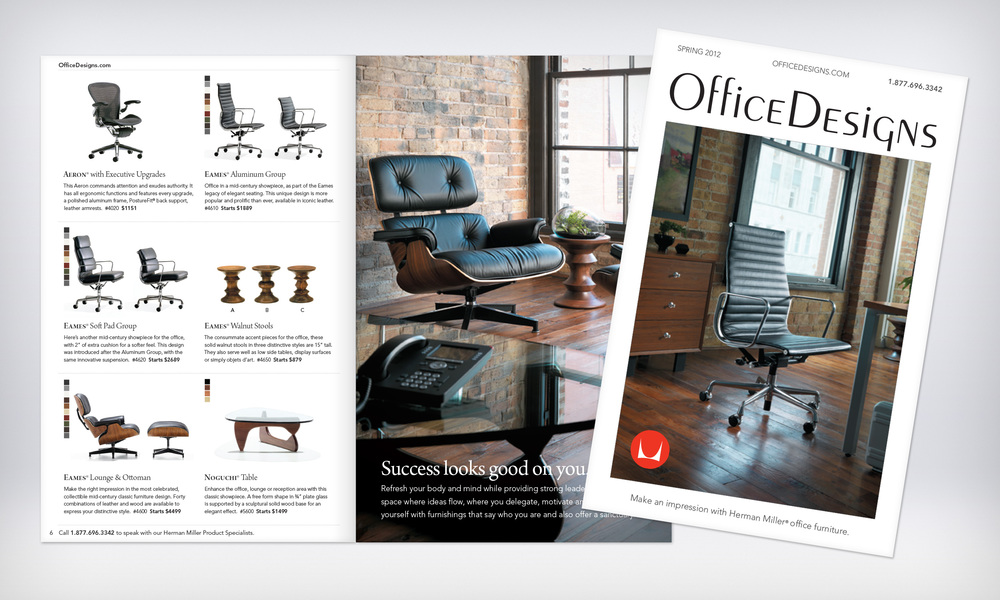 Herman Miller Photography, Office Design Catalog