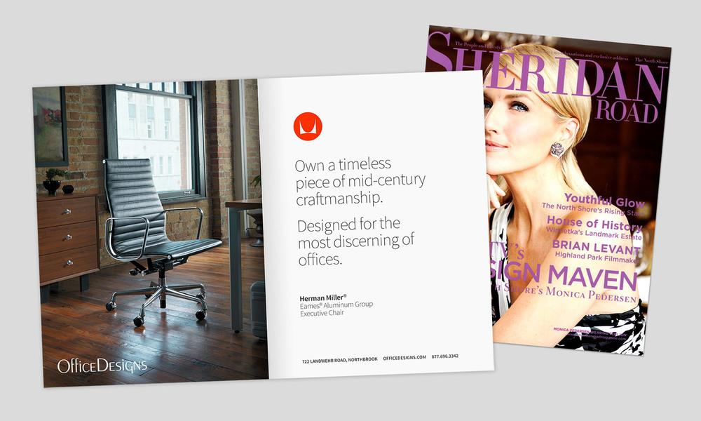 Herman Miller Photography, Office Designs Magazine Advertisement