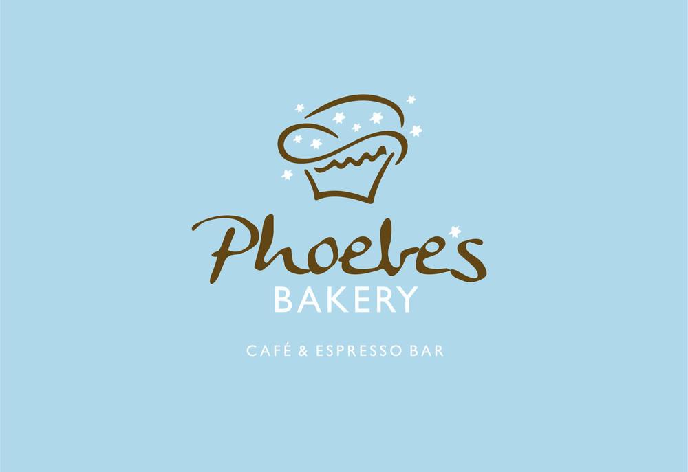 Logo Design, Branding, Phoebe's Bakery