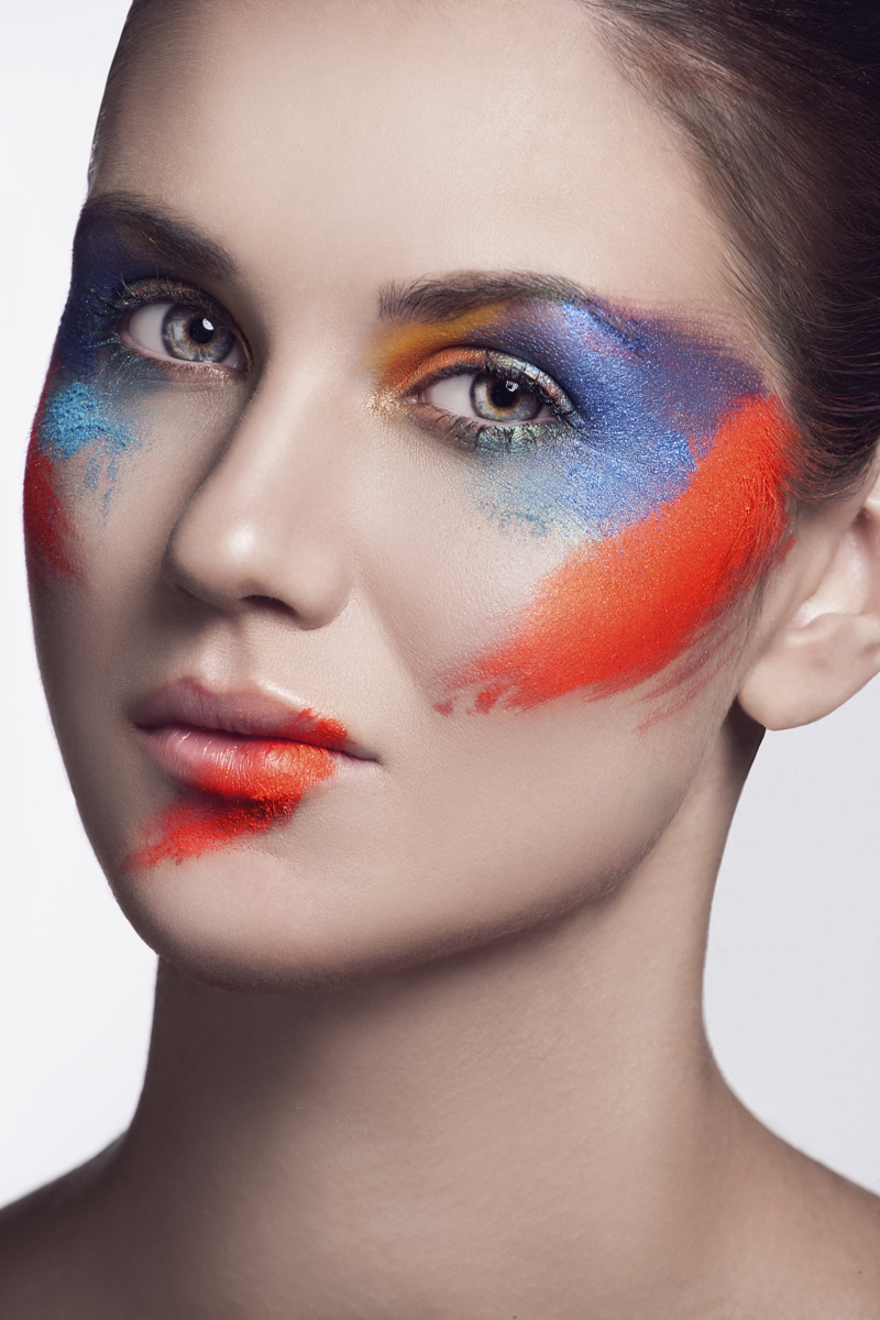 A riot of colors - look 2
