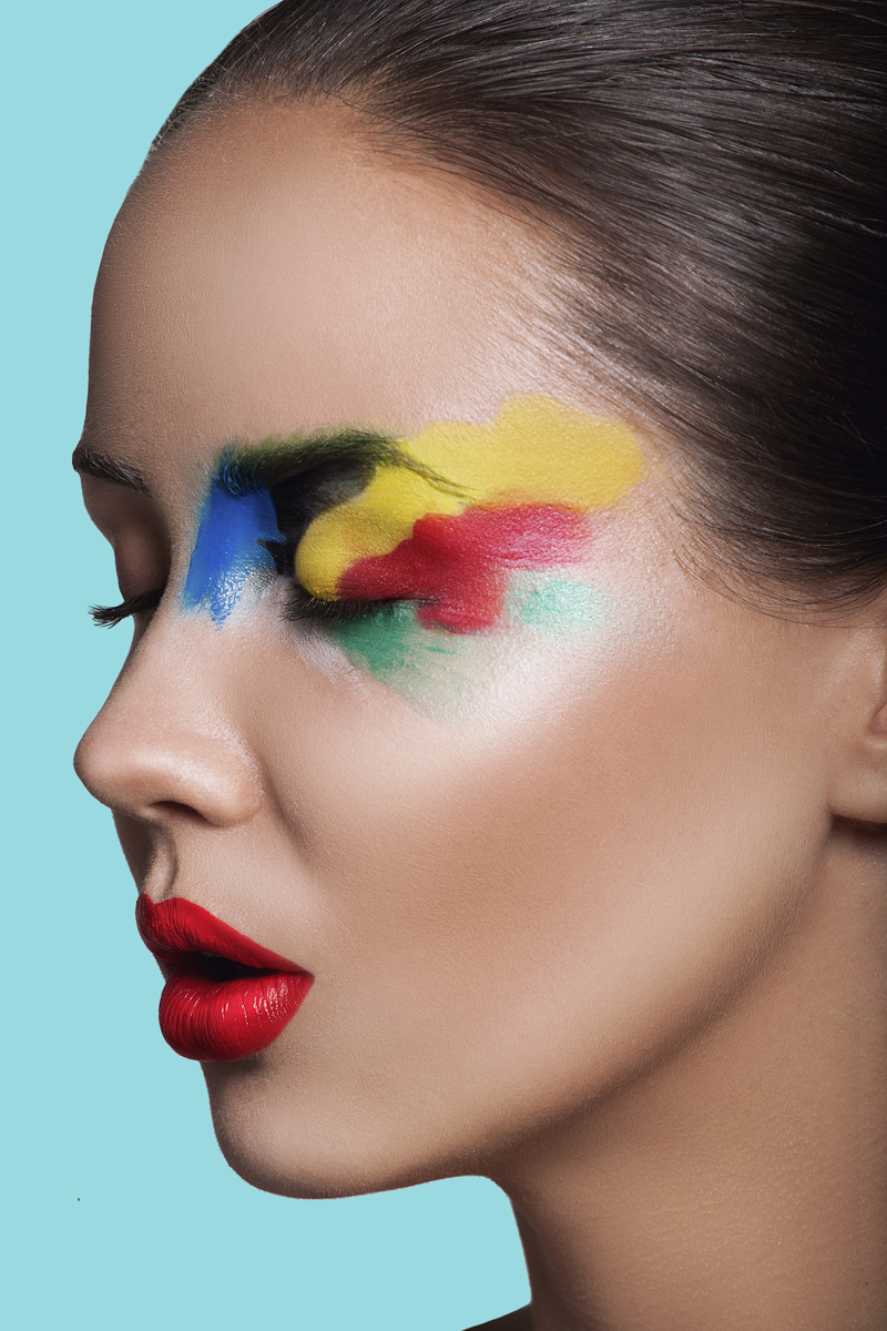 A riot of colors - look 3