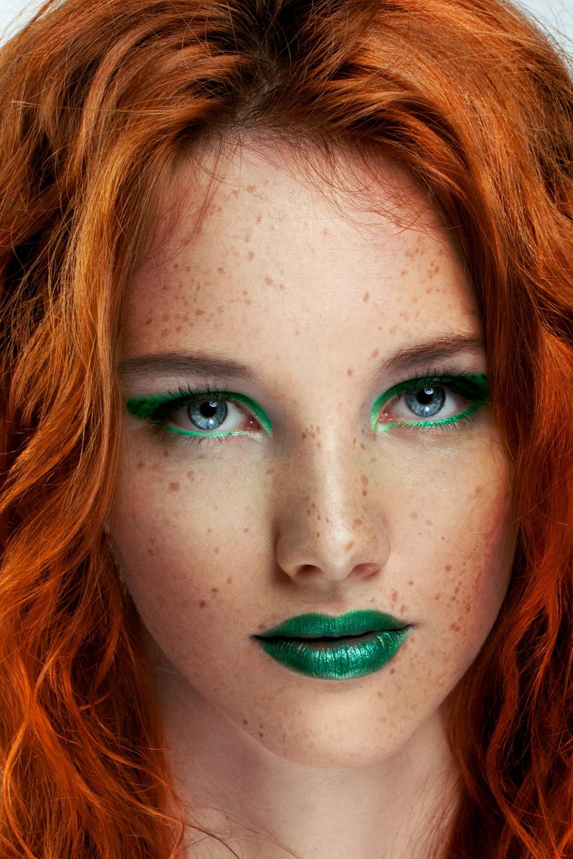 Beautiful redhead girl - Kate