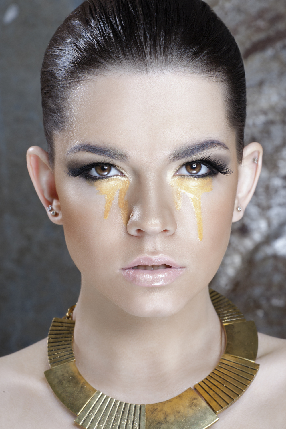Beauty makeup project - Golden girl 2