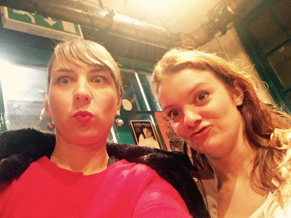 With Hannah in Birmingham.
