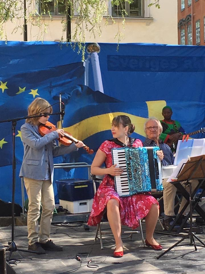European Day in Stockholm 9.5.2016.