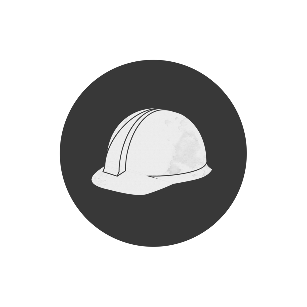 The gallery for --> White Hard Hat Icon