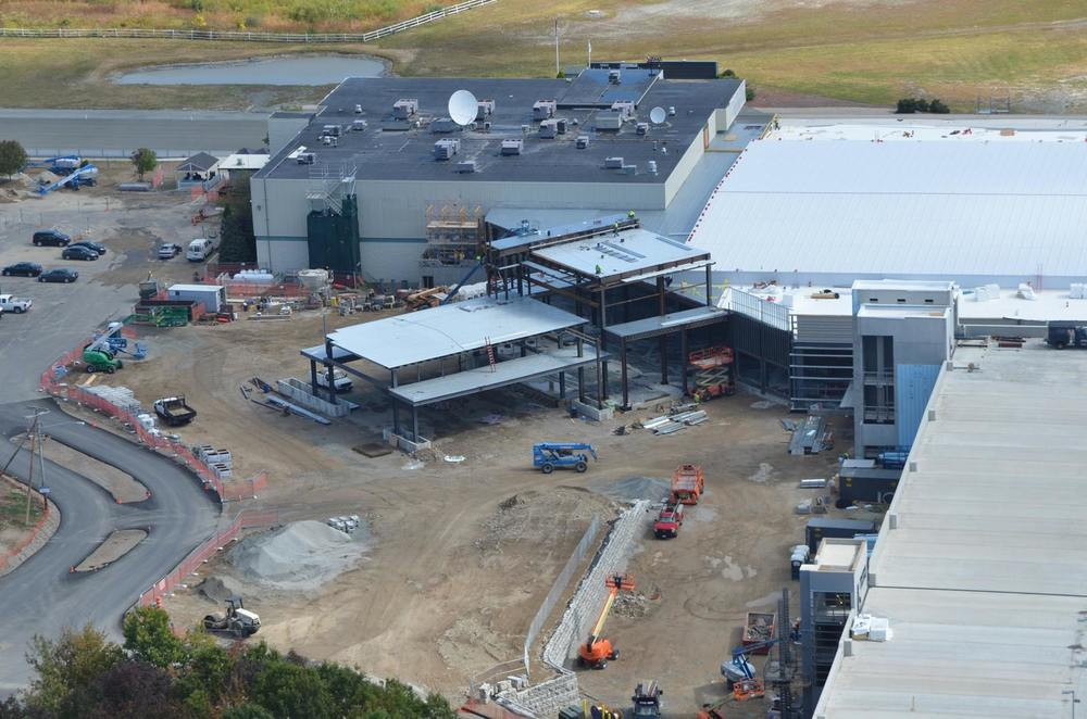 Plainridge Park Casino under Construction