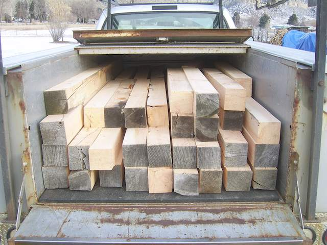 rough beams in truck.jpg