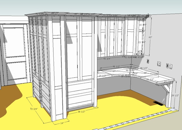 Kania Office SketchUp Drawing