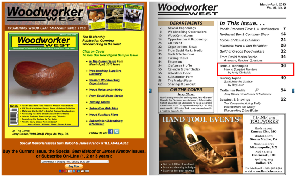Thanks to Woodworker West for permission to use their page images.