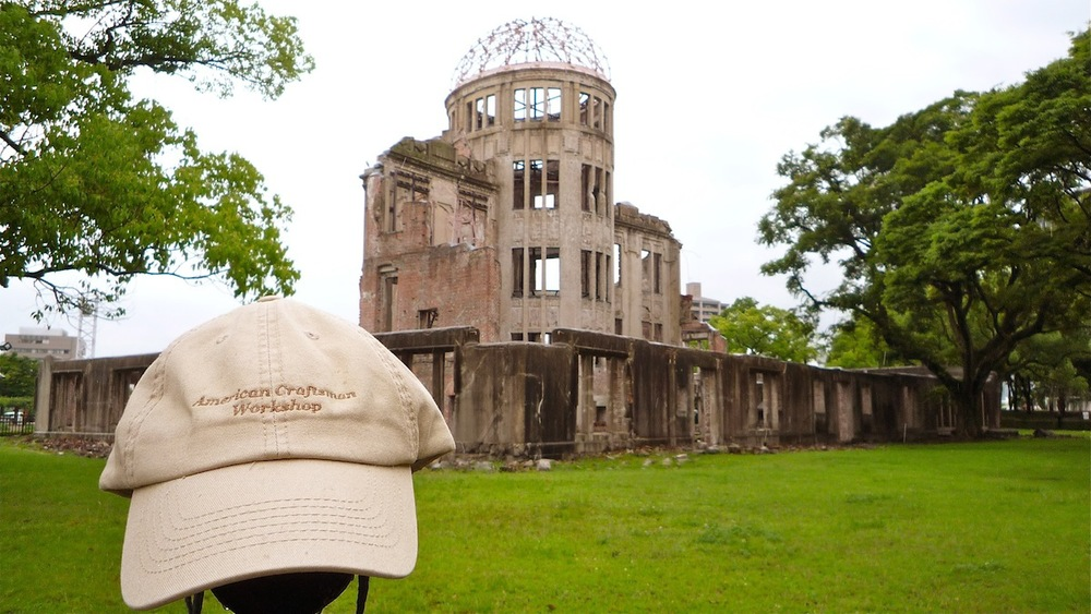 ACW Hat Visits the Hiroshima Memorial in Japan