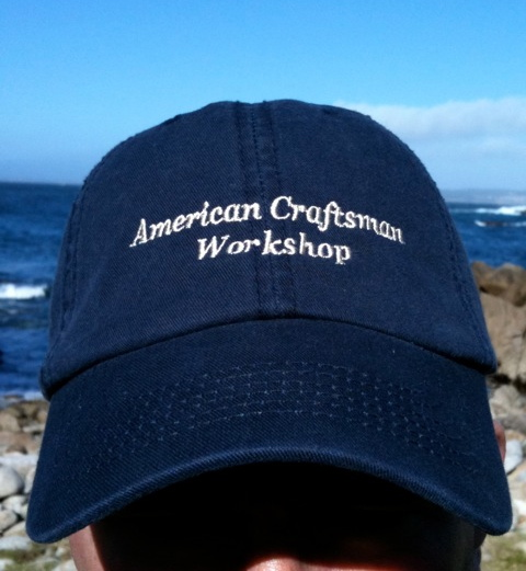 ACW Hat on the California Coast