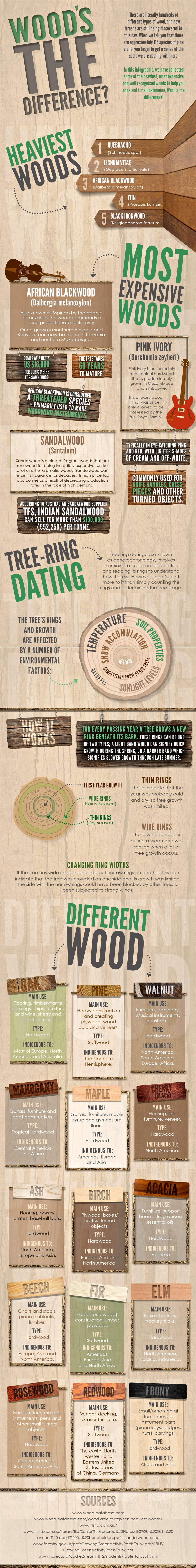 Infographic - Wood's the Difference?