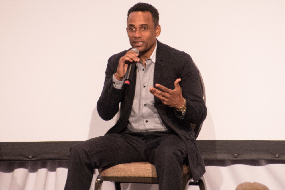 Actor/Author Hill Harper