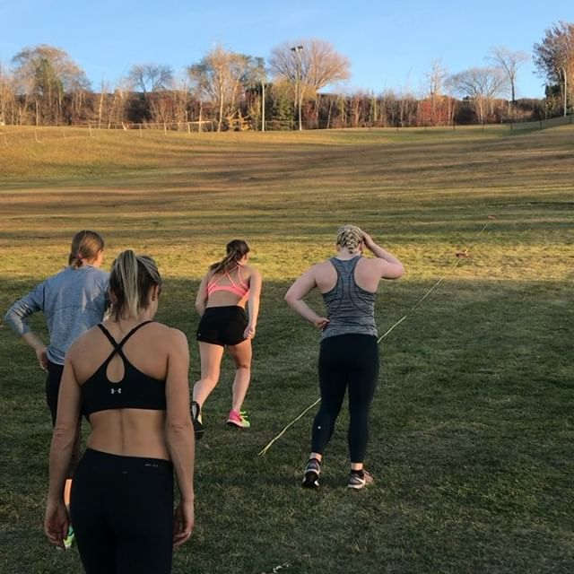 Warmest day of the fall yet for some short hill sprints!  #hills #running #polevault #trackandfield #yeg #yegfitness #folkfest #run #sweat