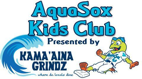 Kama'aina Grindz is proud and honored to be the sponsors of the 2014 Everett Aquasox Kids Club!! The Everett Aquasox is celebrating their 30 year anniversary so go out and support da Frogs and sign up da keikis for this years AquaSox Kids Club. Every member gets a ticket to each Sunday game, a t-shirt, a gift from Kama'aina Grindz and more, all for only $12.  Click on the picture above for more info.