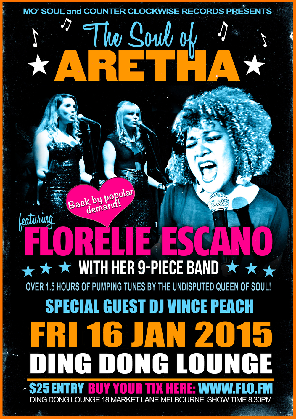 Florelie Escano's Soul Of Aretha Franklin Revue