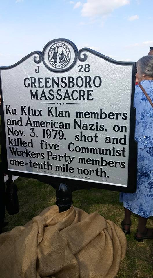 Greensboro Massacre Marker.jpg