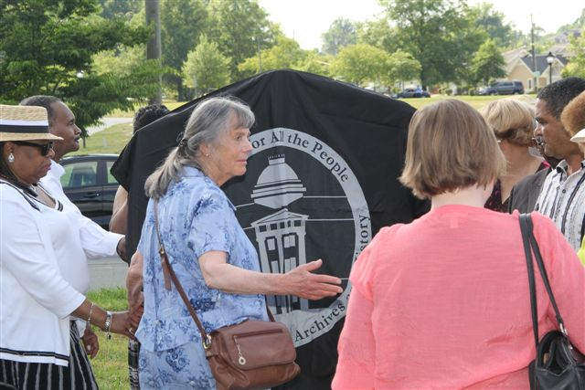 Unveiling of Greensboro Massacre Historical Marker May 24, 2015