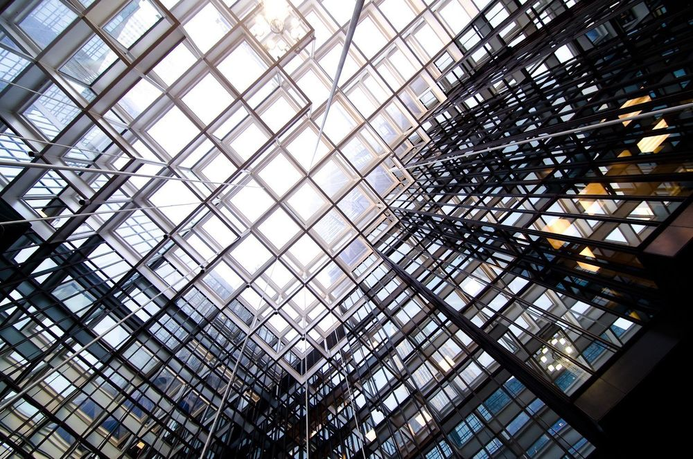 Crystal Court - Glass Roof