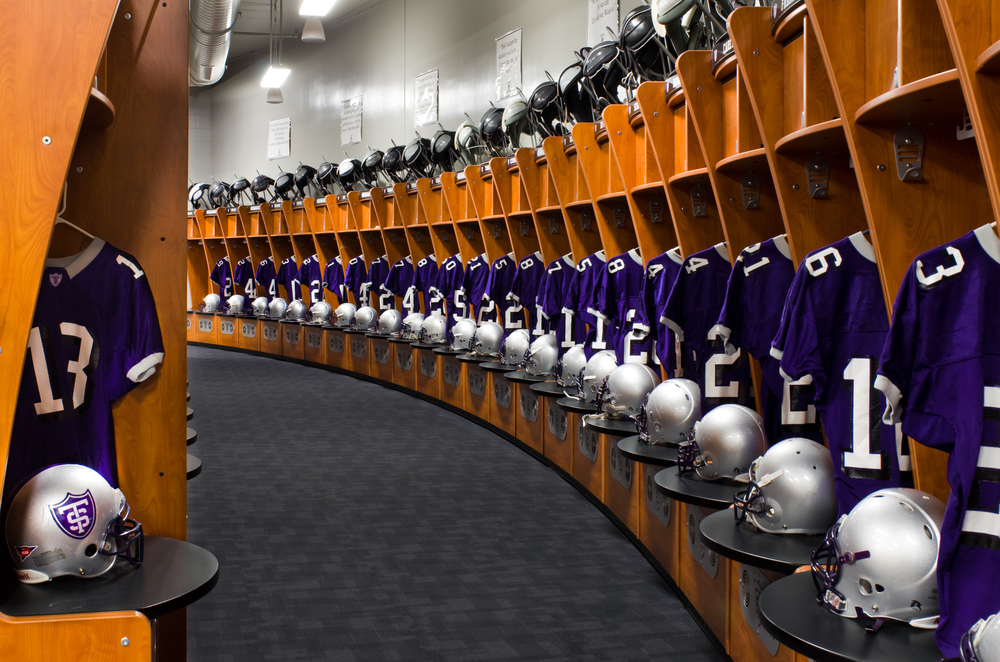 Anderson Athletic Center - Home Locker Room