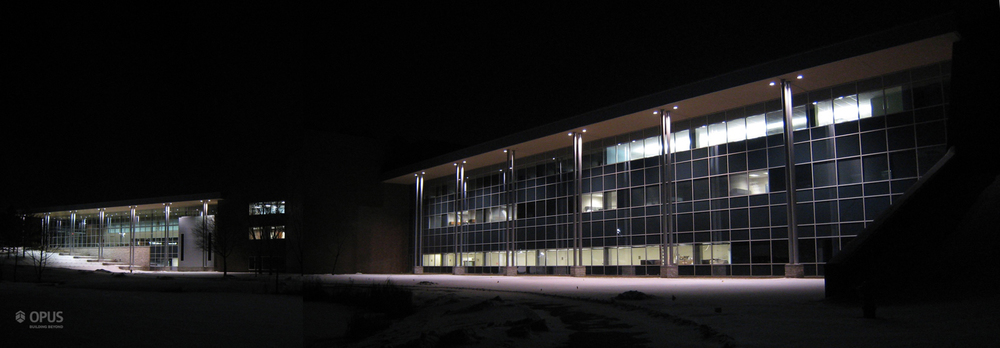 South Exterior at Night (full)
