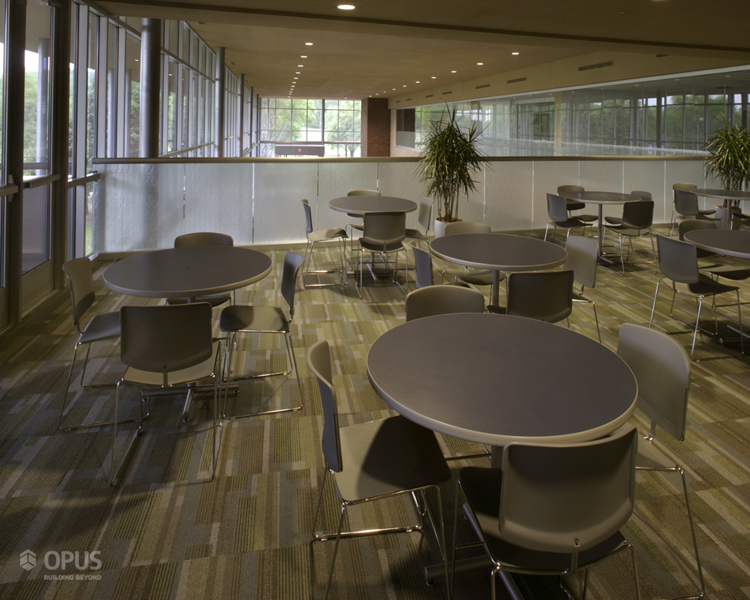Cafeteria Above Lecture Hall