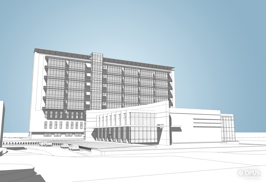 South Entry - Line Rendering