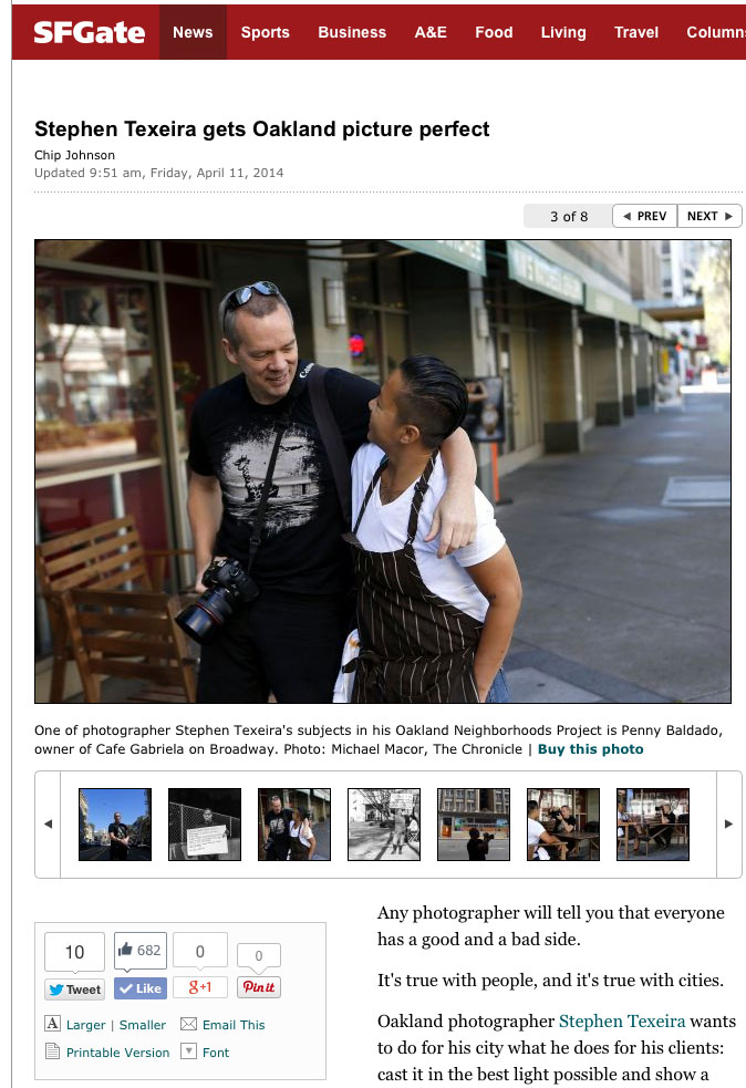 SF Chronicle Article