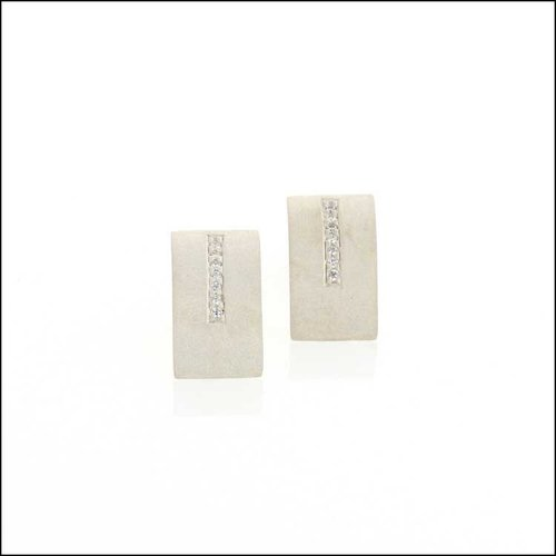 Style #22110599 Diamond and Sterling Silver Earrings