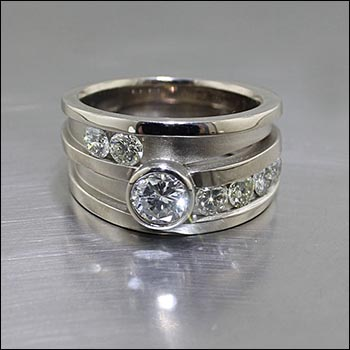 innovative traditional non jewelsmith style rings nontraditional engagement hand