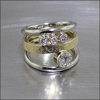 non traditional wedding rings non traditional engagement rings jewelsmith innovative 6186