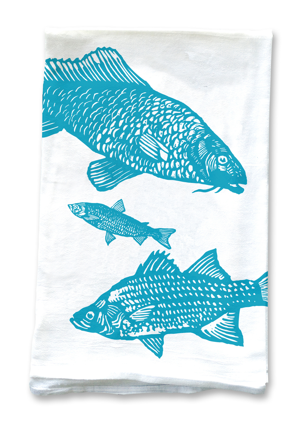 Ocean Theme Kitchen Towels: 4 Pack Assortment